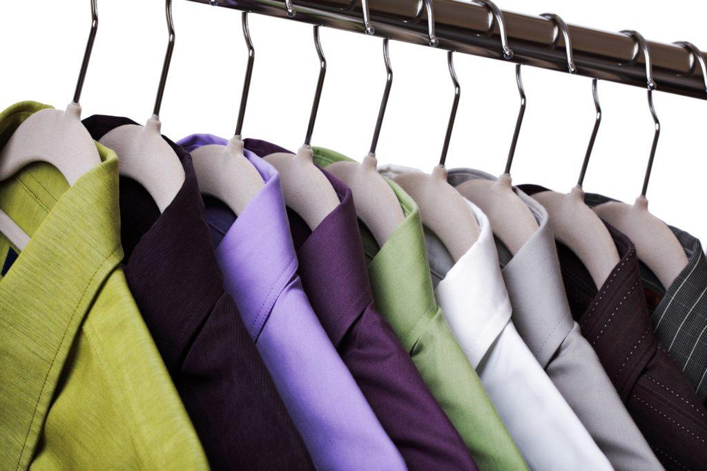 dry cleaning shirts